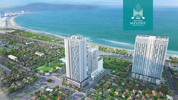 Tổ hợp căn hộ view biển Hưng Thịnh hâm nóng BĐS Quy Nhơn