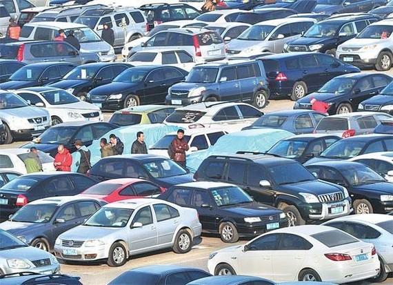 Thị trường ôtô tại Trung Quốc đang rất ảm đạm trong năm qua. (Nguồn: China Daily Asia)