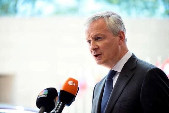 Bộ trưởng Tài chính Pháp Bruno Le Maire. (Nguồn: AFP)
