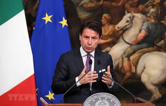 Thủ tướng Italy Giuseppe Conte. (Ảnh: THX/TTXVN)