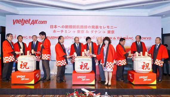 Vietjet khai trương đường bay mới đến Nhật Bản