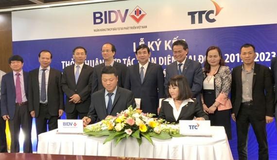 BIDV cấp tín dụng cho các hoạt động cốt lõi TTC