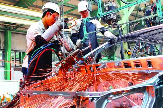 Tăng tỷ lệ nội địa hóa 4 ngành công nghiệp trọng yếu