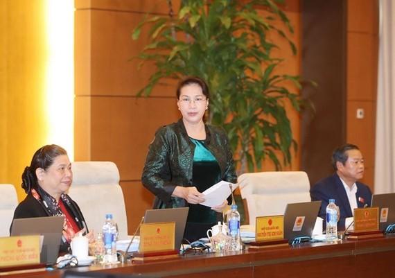 Ủy ban Thường vụ Quốc hội chuẩn bị nhiều dự thảo nghị quyết quan trọng