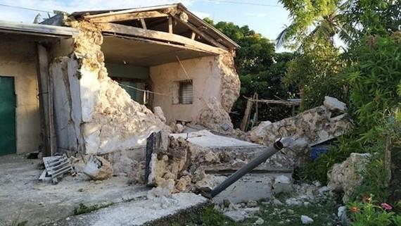 Cảnh tàn phá do động đất. (Nguồn: Rappler)