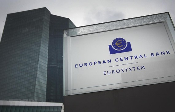 Trụ sở ECB tại Frankfurt am Main của Đức. (Ảnh: AFP/TTXVN)