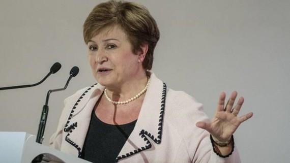 Bà Kristalina Georgieva. (Nguồn: AFP)