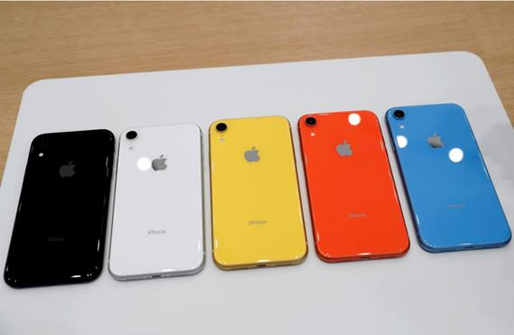Điện thoại iPhone XR của Apple. (Nguồn: Reuters)