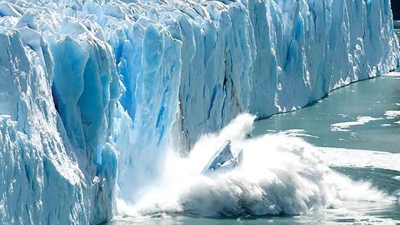 Băng tan ngày càng nhanh do biến đổi khí hậu làm nước biển dâng cao
