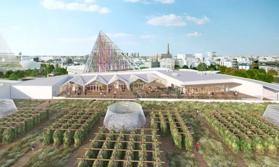 Thiết kế của trang trại sân thượng lớn nhất thế giới sắp hoạt động tại Paris