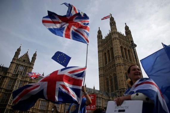 Anh: Biểu tình phản đối quyết định đình chỉ hoạt động Quốc hội