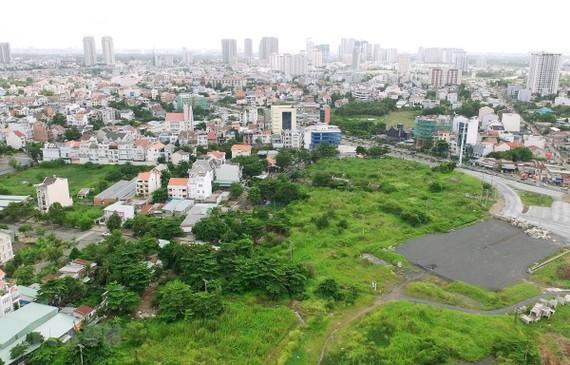 Khu tái định cư 160ha Khu đô thị mới Thủ Thiêm. (Ảnh: Quang Nhựt/TTXVN)
