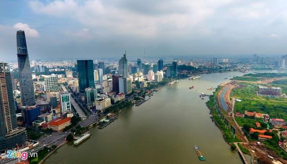 Kiến nghị giao đất cho chủ đầu tư dự án đến mép bờ cao sông rạch