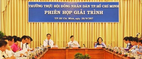 Phiên họp giải trình của Thường trực HĐND TPHCM về tình hình đầu tư, hiệu quả hoạt động các thiết chế văn hóa trên địa bàn TPHCM