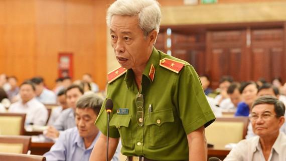 Thiếu tướng Phan Anh Minh, Phó Giám đốc Công an TP. Ảnh: VIỆT DŨNG