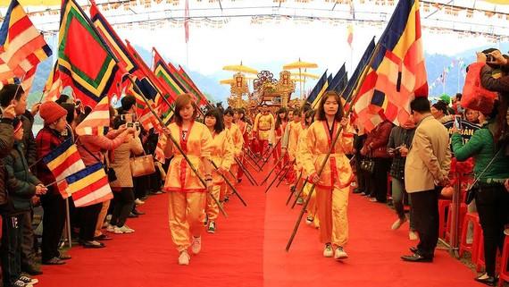 Lễ khai hội Yên Tử (Quảng Ninh)