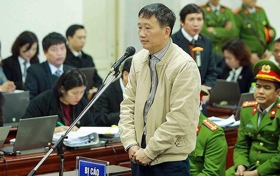 Trịnh Xuân Thanh bị xét xử liên quan đến 2 vụ án tham ô