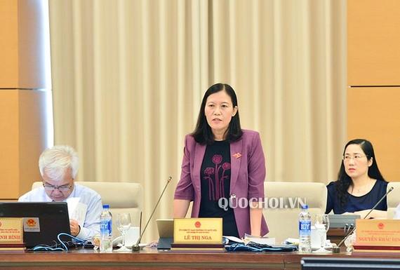Bà Lê Thị Nga giải thích về điều kiện được đặc xá