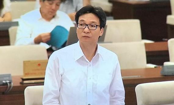 Phó Thủ tướng Vũ Đức Đam phát biểu tại phiên họp