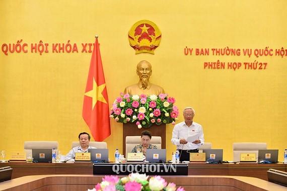 Lãnh đạo Quốc hội chủ trì phiên họp