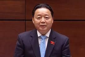 Bộ trưởng Tài nguyên - Môi trường Trần Hồng Hà