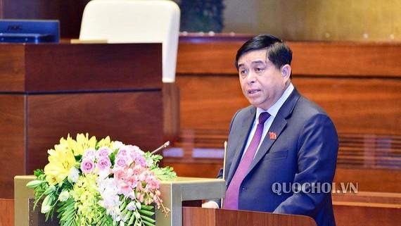 Dự án Luật Sửa đổi, bổ sung các luật có liên quan đến quy hoạch đã được Bộ trưởng Bộ Kế hoạch và Đầu tư Nguyễn Chí Dũng trình Quốc hội đầu kỳ họp này