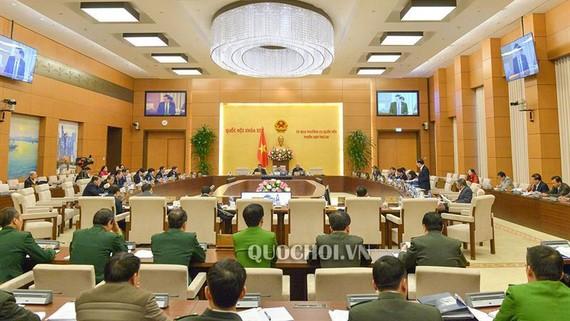 Phiên họp lần thứ 30 của Uỷ ban Thường vụ Quốc hội khoá XIV