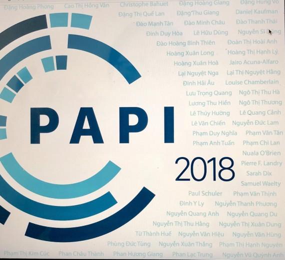 Báo cáo PAPI 2018 được thực hiện dựa trên ý kiến chia sẻ của 14.304 người dân được lựa chọn ngẫu nhiên trên phạm vi toàn quốc