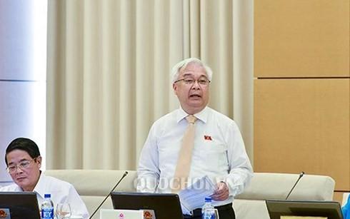 Ông Phan Thanh Bình, Chủ nhiệm Ủy ban Văn hóa, Giáo dục, Thanh niên, thiếu niên và Nhi đồng