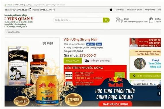 Bộ trưởng Bộ Y tế Nguyễn Thị Kim Tiến bày tỏ lo ngại sâu sắc về tình trạng bán hàng thực phẩm bảo vệ sức khỏe online không bảo đảm an toàn