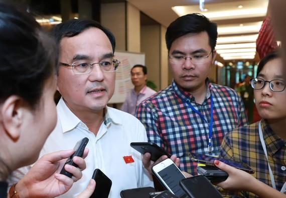 Chủ tịch EVN Dương Quang Thành, ĐBQH Hà Nội trả lời phỏng vấn