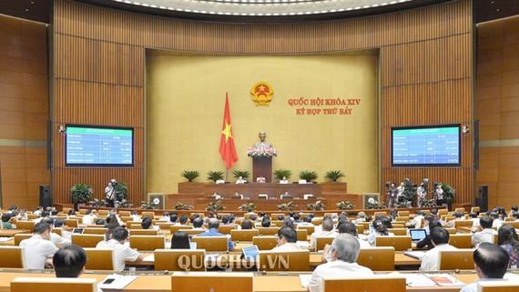 Quốc hội đã biểu quyết thông qua Luật Quản lý thuế (sửa đổi) với 442/453 đại biểu Quốc hội tham gia biểu quyết tán thành, chiếm 91,32% tổng số ĐBQH