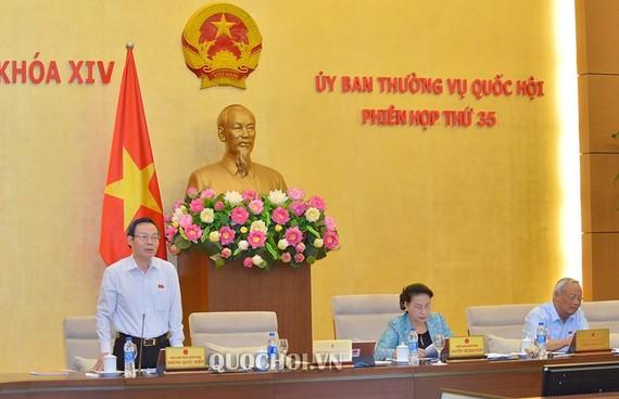 Phó Chủ tịch Quốc hội Phùng Quốc Hiển cho rằng sát nhập Văn phòng HĐND với Văn phòng UBND có nhiều bất cập