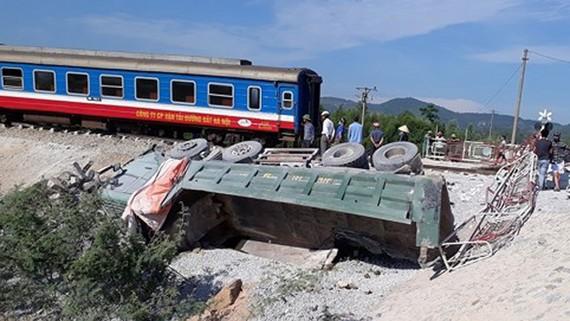 Vụ tai nạn đường sắt xảy ra tại Tĩnh Gia, Thanh Hóa hồi tháng 5-2018