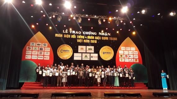 Lễ trao giải Nhãn hiệu nổi tiếng, nhãn hiệu cạnh tranh Việt Nam năm 2018