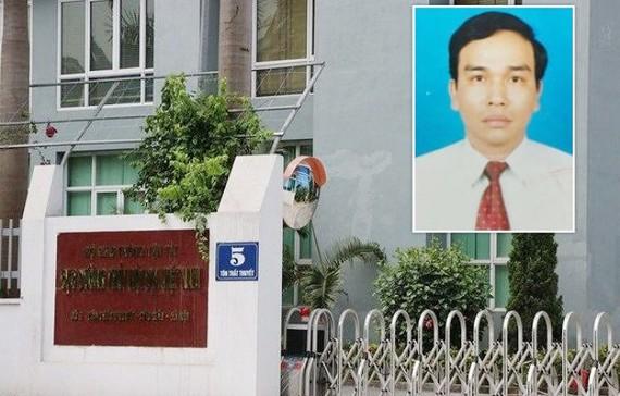 Bị can Vũ Mạnh Hùng, Quyền Trưởng phòng Kế hoạch - Đầu tư, Cục Đường thủy nội địa Việt Nam vừa bị khởi tố. Ảnh: CQĐT