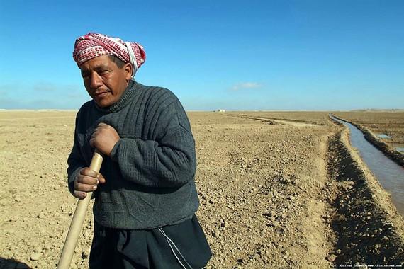 敘利亞的水源日趨乾涸對民眾的生活及農業生產造成不少困難。