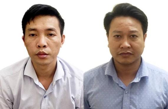 杜孟俊(左)、阮克俊(圖源:公安部)