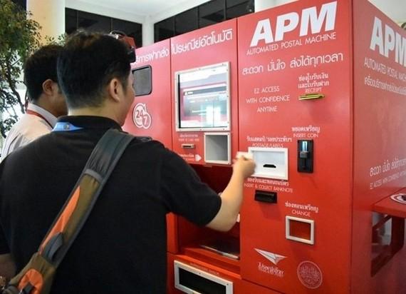 泰機場自助郵政機 旅客可寄不能帶上機物品