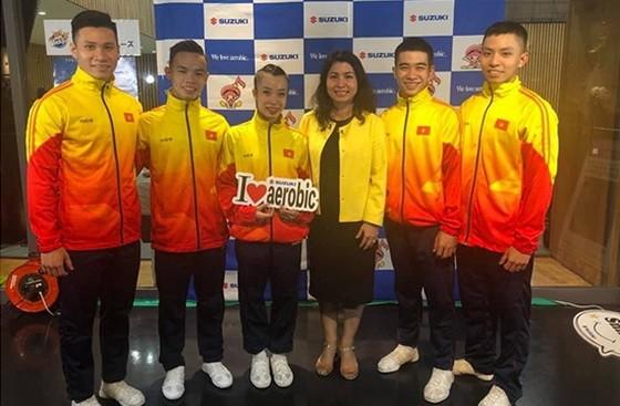 越南健美操運動員。