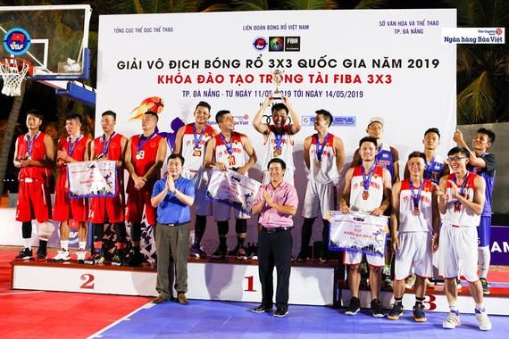 男子組頒獎儀式。