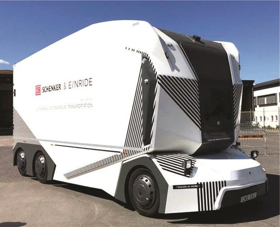 無人駕駛電動卡車在瑞典上路送貨