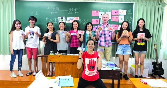 據胡志明市台灣學校昨(13)日告知,該校開辦的華語文週六班第35期於今(14)日正式開課。
