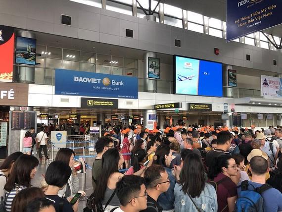 Ùn tắc tại sân bay quốc tế Đà Nẵng