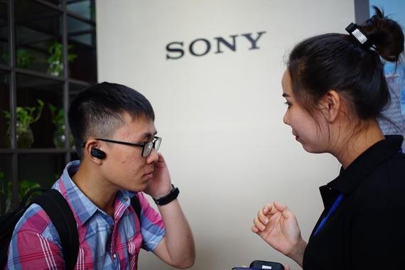 Sony tổ chức buổi trải nghiệm thực tế tai nghe chống ồn WF-1000XM3