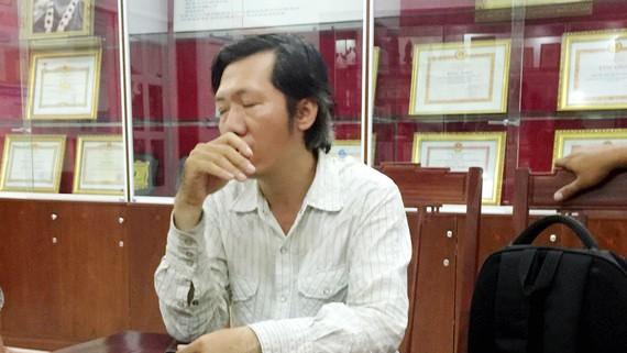 Nguyễn Tấn Quan từng giả danh phóng viên Báo SGGP và bị phát hiện, bắt giữ tại Hội Liên hiệp Phụ nữ TPHCM. Ảnh: HỒNG HẢI