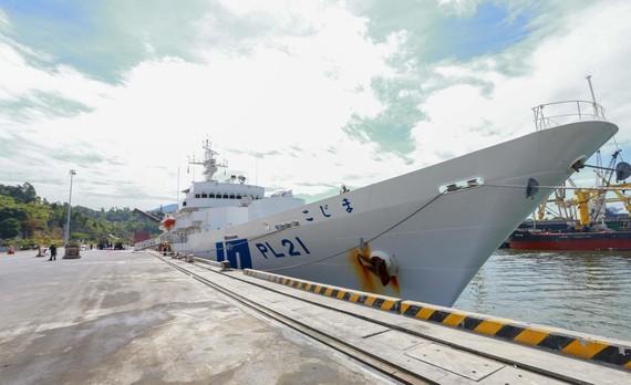 Tàu Lực lượng bảo vệ bờ biển Nhật Bản - Kojima cập cảng Tiên Sa
