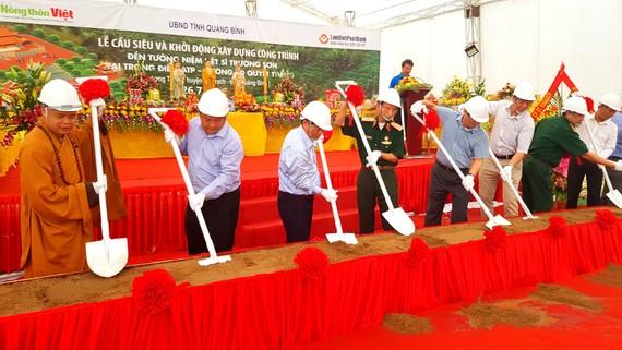 Lễ khởi công xây dựng đền thờ liệt sĩ Trường Sơn tại trọng điểm ATP