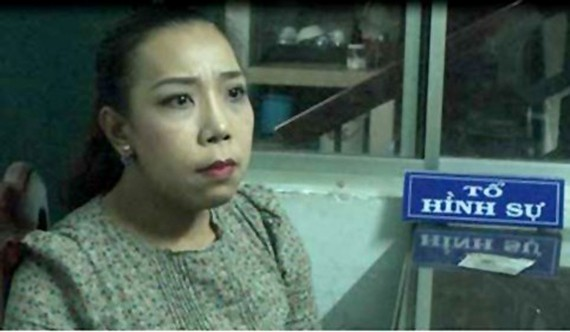 Phạm Lê Hoàng Uyển bị bắt quả tang tống tiền danh nghiệp