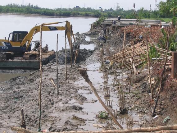Bán đảo Thanh Đa sẽ được xây kè kiên cố. Ảnh: QUỐC HÙNG